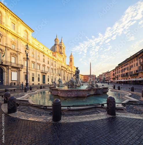 Staande foto Rome Piazza Navona, Rome. Italy