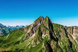 Berg Höfats nahe Oberstdorf in den Allgäuer Alpen