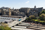 A view looking south (towards the old town) from the Scott Monument, Princes Street, Edinburgh, Scotland. - 169529267