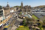 A view looking east from the Scott Monument, Princes Street, Edinburgh, Scotland. - 169529643