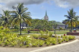 Park in Papeete, Tahiti, French Polynesia - 169532409