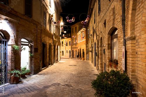 Fotobehang Smalle straatjes italienische Gasse