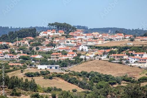 Fotobehang Khaki Ericeira, Portugal
