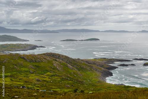 Fotobehang Bleke violet coast - ireland