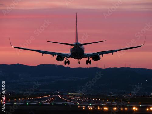 Póster 1 minuto antes del aterrizaje