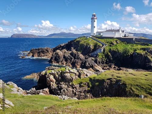 Aluminium Vuurtoren Der Fanad Head Leuchtturm, County Donegal, Irland