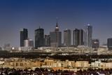 Fototapety Warsaw city downtown panorama