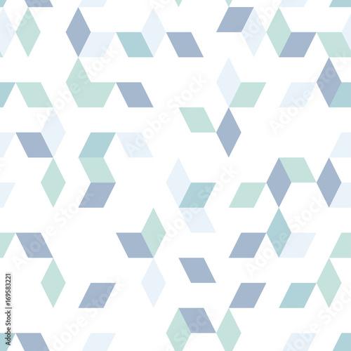 Blue diamonds shapes - 169583221