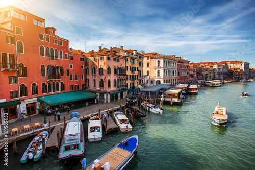 Poster Beautiful Venice city at summertime. Italy, Europe