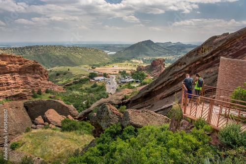 Aluminium Zomer Red Rocks Overlook
