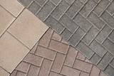 background from paving with ornament - 169605076
