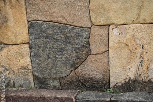 Papiers peints Brick wall Zyklopenmauerwerk