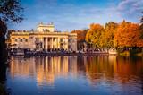 Fototapeta Room - Łazienki Królewskie, widok na Pałac na Wodzie © fotobroda