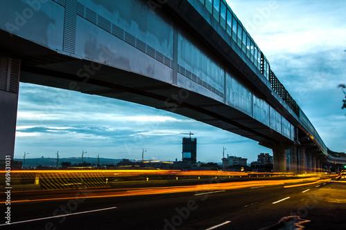 Fotobehang Nacht snelweg Cheeo Li's photography collection
