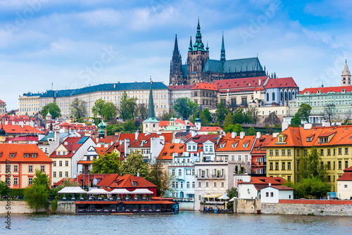 Prague is the capital of the Czech Republic, the European state Poster