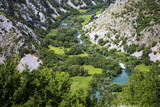 Krupa river canyon in Croatia - 169653846