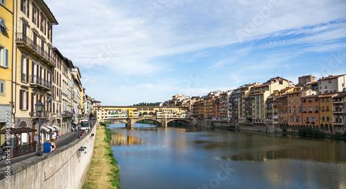 Papiers peints Florence Ponte Vecchio in Florence , Italy
