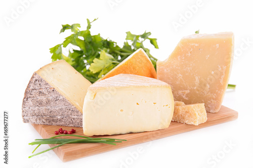 Poster assorted cheese