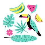 Vector summer illustrations - 169682615