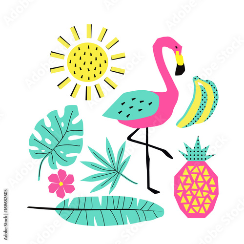 Vector summer illustrations - 169682605