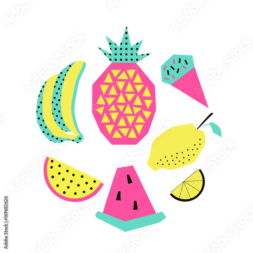 Vector summer illustrations - 169682626