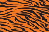 Pattern Tiger Background ,Vector illustration
