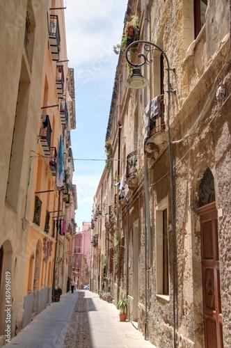 rues, monuments et églises de Cagliari, capitale de la Sardaigne