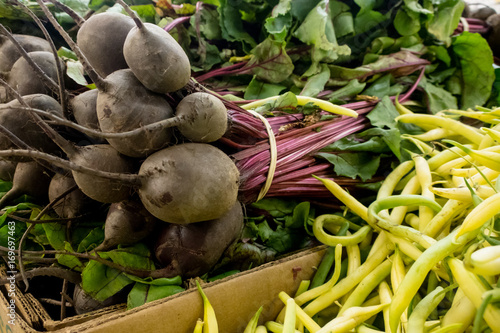 Fotobehang Canada Beets beans