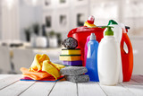 cleaning products - 169703870