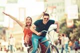 Couple enjoying bike - 169706211