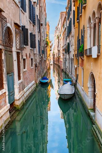 Foto op Plexiglas Venetie Beautiful Venice city at summertime. Italy, Europe