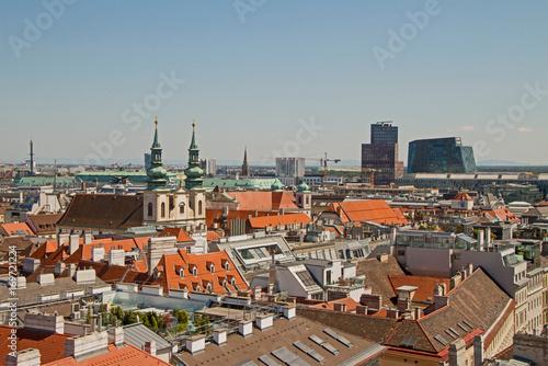 Papiers peints Vienne Wien Vienna Panorama City