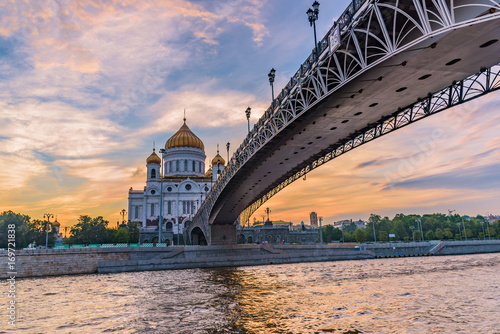 Cathedral of Christ the Saviorin Moscow, Russia © finallast