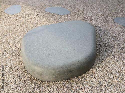 Foto op Aluminium Stenen in het Zand Stones