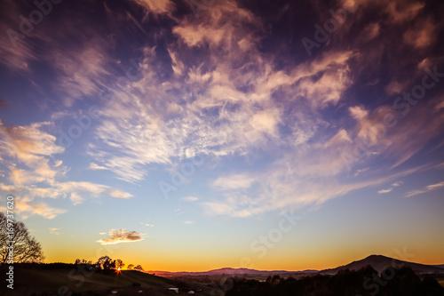 Aluminium Zomer New Zealand sunrise