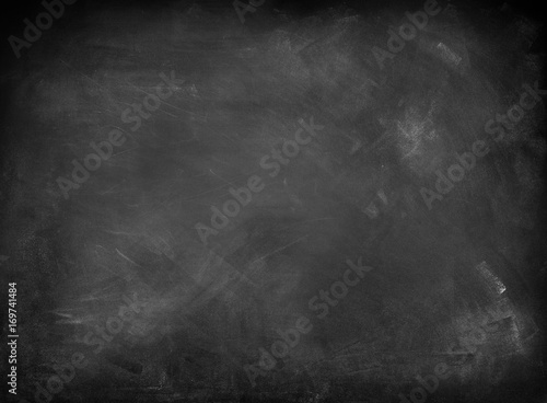Leinwanddruck Bild Blackboard or chalkboard background