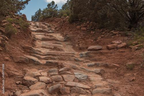 Fotobehang Diepbruine Broken Arrow Trail