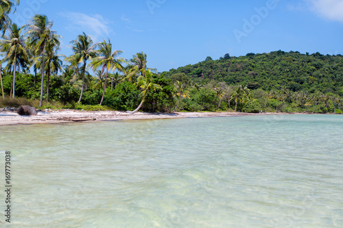 Tuinposter Tropical strand Sea Phu Quoc