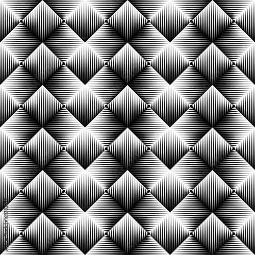 Abstract Zigzag Background. Seamless Stripe Pattern - 169782670