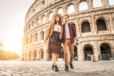 Couple at Colosseum, Rome - 169832458