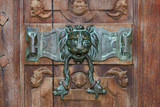 Détail du porche nord de l'église Saint-Maclou. Rouen - 169838680