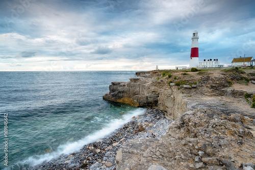 Fotobehang Vuurtoren Portland Bill Lighthouse in Dorset