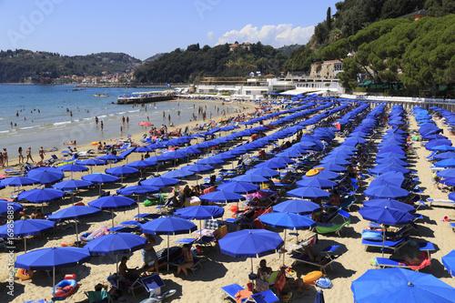 Venere Azzurra Beach, Lerici, Italy,  Ligurian Riviera Poster