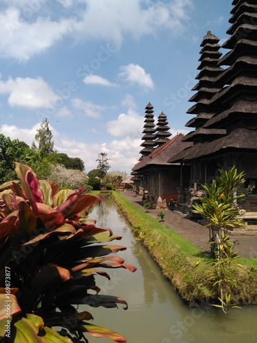 Papiers peints Bali Templo Taman Ayun en Bali, Indonesia