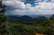 "Taken from ""Rim of the World"" highway, a storm develops over San Bernardino, CA"