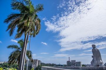 Revolution plaza at Habana, Cuba
