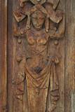 Bas-relief érotique du porche nord de l'église Saint-Maclou. Rouen - 169893431