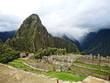 Panorama of Mysterious city - Machu Picchu, Peru, South America
