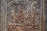 Bas-relief, porte du porche nord de l'église Saint-Maclou. Rouen - 169899482