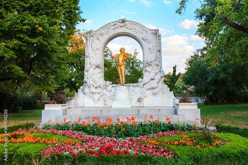 Foto op Canvas Wenen Mozart Denkmal Wien